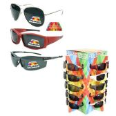 288 Units of UNISEX POLARIZED SUNGLASSES 36PC DISPLAY 3 STYLES ASSORTED IN THE MIX SPIN RACK
