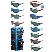 192 Units of SPORT SUNGLASSES WITH DISPLAY FULL ASSORTMENT
