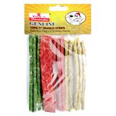 48 Units of 15 PACK MUNCH STRIPS ASSORTED 130-150 GRAMS PER PACK - PET CHEW/MUNCHIES/RAWHIDES/STICKS