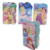 48 Units of DISNEY PRINCESS BOARD BOOKS 4 ASSORTED 6 PAGE BOOKS - Activity Books