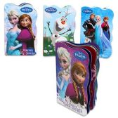 48 Units of DISNEY FROZEN BOARD BOOKS 4 ASSORTED 6 PAGE BOOKS - Activity Books