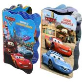 48 Units of DISNEY PIXAR CARS BOARD BOOKS 4 ASSORTED 6 PAGE BOOKS - Activity Books