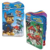 48 Units of NICKELODEON PAW PATROL BOARD BOOKS 4 ASSORTED 6 PAGE BOOKS - Activity Books