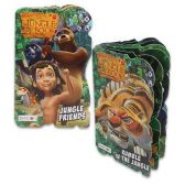 48 Units of DISNEY THE JUNGLE BOOK BOARD BOOKS 4 ASSORTED 6 PAGE BOOKS - Activity Books