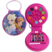 24 Units of DISNEY FROZEN 21 PIECE ART SET COMES IN EASY CARRY CASE