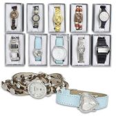 100 Units of MAURICES LADIES WATCHES ASSORTED DESIGNS