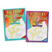 48 Units of WORD SEARCH PUZZLE BOOKS WITH BIG PRINT 2 ASSORTED 96 PAGE BOOKS - Puzzle Books