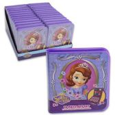 96 Units of DISNEY SOFIA THE FIRST 18 PIECE ART SET WATERCOLOR PAINT, PAINT BRUSH, CRAYONS