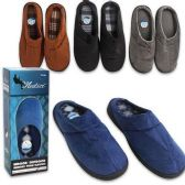 48 Units of SLIPPERS MENSS MEMORY FOAM ASSORTED COLORS