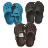 48 Units of CLOGS BOYS SIZES 12-4 3 ASSORTED COLORS - Boys Flip Flops & Sandals