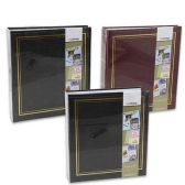 8 Units of MAGNETIC COLOR PHOTO ALBUMS 100 PAGE ALBUMS IN 3 ASSORTED COLORS