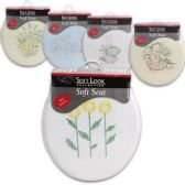10 Units of SOFT TOILET SEAT IN 5 ASSORTED DESIGNS - Toilet Seats