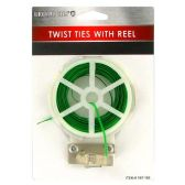 72 Units of TWISTI TIES WITH REEL AND CUTTER