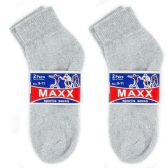 120 Units of 2 PAIR GREY SOCKSSIZE 9-11 ANKLE SOCKS