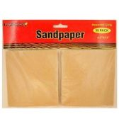 24 Units of 30CT ASSORTED SAND PAPER