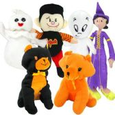 96 Units of STUFFED TOYS HALLOWEEN 8 ASSORTED - Halloween & Thanksgiving