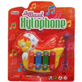 144 Units of XYLOPHONE DUCK SHAPE BLISTER CARD