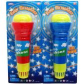 144 Units of MAGIC MICROPHONE 9 INCH ASSORTED COLORS
