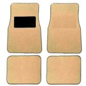 10 Units of 4PC LIGHT BEIGE CARPET CAR FLOOR MATS 29 FRONT MATS 27X17 + 2 BACK MATS 17X1