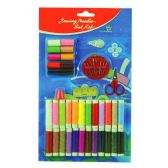 96 Units of 40 PC SEWING KIT WITH NEEDLES SCISSORS ASSORTED COLOR THREAD - SEWING KITS/NOTIONS