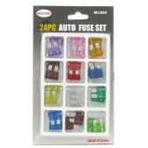 144 Units of 24PC AUTO FUSE - AUTO GAUGES/FUSES/TESTERS