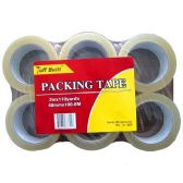 36 Units of PACKING TAPE CLEAR 1.89 x 110 YDS