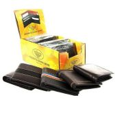 144 Units of GENUINE LEATHER WALLET DISPLAY ASSORTED STYLES