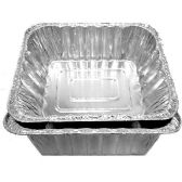 100 Units of ALUMINUM ROASTER PAN DEEP RECTANGULAR