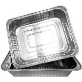 100 Units of ALUMINUM ROASTER PAN RECTANGULAR PAN