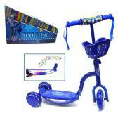 6 Units of 3 WHEEL SCOOTER W/ LIGHT & MUSIC BLUE SCOOTER