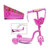 6 Units of 3 WHEEL SCOOTER W/ LIGHT & MUSIC PINK SCOOTER