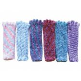 120 Units of FEATHER SOCKS ASSORTED COLORS - Women's Toe Sock