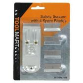 72 Units of SAFETY SCRAPER W/4PC SHPARE BLADES
