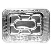 100 Units of RECTANGLE TURKEY TRAY ALUMINUM