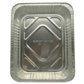 200 Units of RECTANGLE HALF TURKEY PAN ALUMINUM