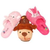 36 Units of WOMENS ANIMAL SLIPPERS SIZE 5-10 SHEEP, DOG, BUNNY