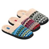 24 Units of WOMENS SLIPPERS SIZE 5-10 BLUE, PINK, GRAY