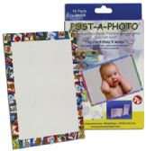 100 Units of POST-A-PHOTO POST CARD FRAMES 10 PACK BOXED - Picture Frames