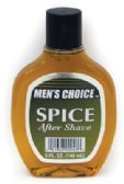 12 Units of MEN'S CHOICE AFTER SHAVE 5 OZ SPICE MADE IN USA - Perfumes/ Body Sprays/ Cologne