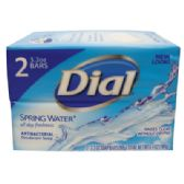 36 Units of DIAL BAR SOAP 2 PACK 3.2 OZ EACH SPRING WATER - Soap & Body Wash