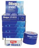 48 Units of BLISTEX LIP MEDEX .25 OZ COUNTER DISPLAY