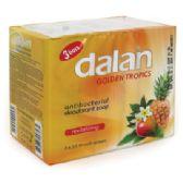 24 Units of DALAN ANTIBACTERIAL BAR SOAP 3 PACK 3.2 OZ EACH GOLDEN TROPICS