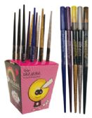 72 Units of EYELINER PENCIL .036 OZ IN COUNTER DISPLAY - PENS