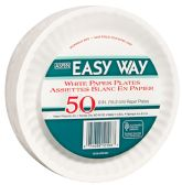 24 Units of EASY WAY 6 50 CT PAPER PLATE MICROWAVE SAFE - Dinnerware > Plates