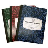 48 Units of COMPOSITION NOTEBOOK 100 SHEET 9.75 X 7.5 INCH WIDE RULE