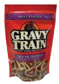 12 Units of GRAVY TRAIN DOG TREAT 4.5 OZ STEAK BONES - PET ACCESSORIES