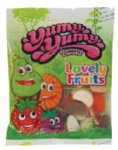 12 Units of YUMY YUMY GUMMY LOVELY FRUITS 4 OZ - Food & Beverage