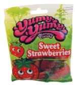 12 Units of YUMY YUMY SWEET STRAWBERRIES 4.5 OZ - Food & Beverage