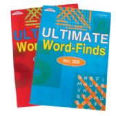 80 Units of ULTIMATE WORD FIND BOOK 97 PAGES ASSORTED VOLUMES MADE IN USA PREPRICED $3.95 - Coloring Books