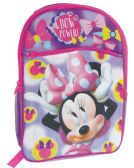 "12 Units of DISNEY BACKPACK 16""""MINNE MOUSE BOWTIQUE - Backpacks"